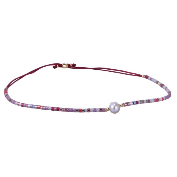 KELITCH Crystal Gems Mix Beaded Friendship Bracelets Charm Adjustable Bracelet New Jewelry - Color 4 - C412NG85Z9Y