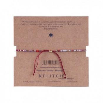 KELITCH Friendship Bracelets Adjustable Bracelet in Women's Wrap Bracelets
