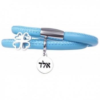 Valentine Stainless Inspirational Bracelet Protection - Blue - CE182L0KL0C