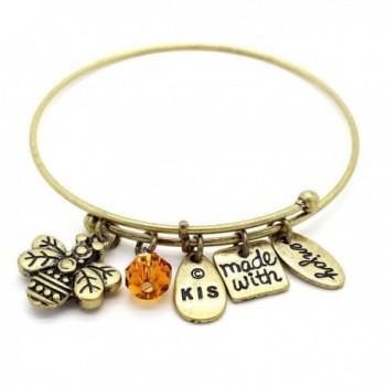 KIS Jewelry Symbology Bumble Bangle Bracelet