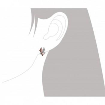 Sterling Silver Accents Dolphin Earrings in Women's Stud Earrings