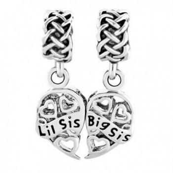 CharmsStory Sterling Silver Sister Bracelets in Women's Charms & Charm Bracelets