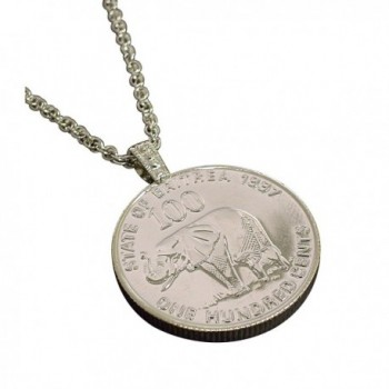 American Coin Treasures Lucky Elephant Coin Pendant - CH116VRL0RF
