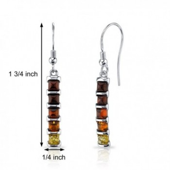 Baltic Dangle Earrings Sterling Silver