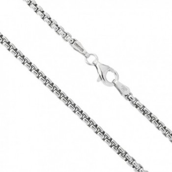 Solid Sterling Silver thick Necklace