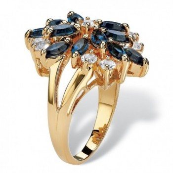 Gold plated Marquise Floral Swarovski Elements