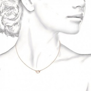 PAVOI Yellow Infiity Necklace Pendant in Women's Pendants