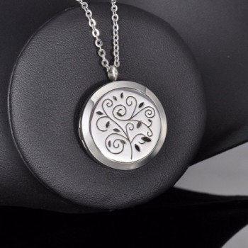 HooAMI Aromatherapy Essential Diffuser Necklace in Women's Lockets