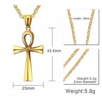 XUANPAI Stainless Diamond Egyptian Necklace