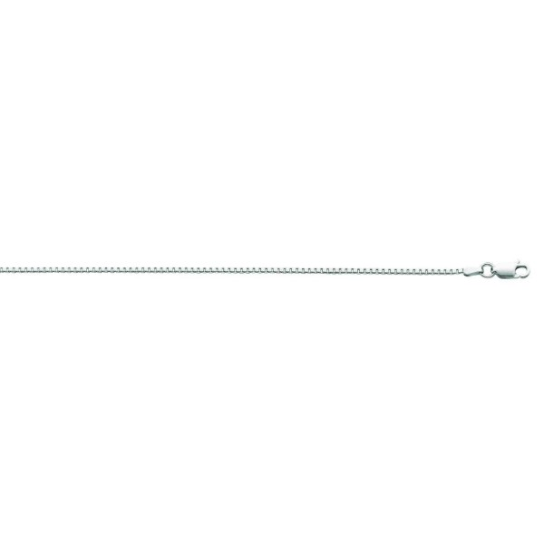Sterling Silver Rohdium Classic Necklace - C811FG4XYHX
