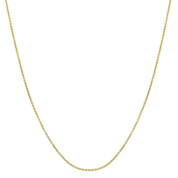 """14k Yellow Gold Filled 1mm Cable Chain Necklace (16""""- 18""""- 20""""- 22""""- 24"""" or 30"""") - CX12EZUP1U1"""