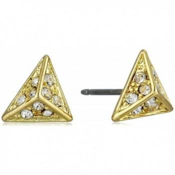 CC Skye Crystal Sands Stud Earrings - C11282QFYZL