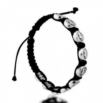Benedict Nursia Silver Adjustable Bracelet