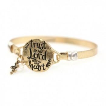 Trust Christian Bangle Bracelet Design