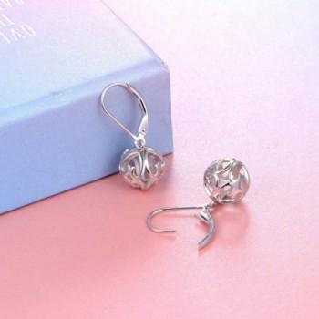 Sterling Silver Earrings SILVER MOUNTAIN in Women's Drop & Dangle Earrings