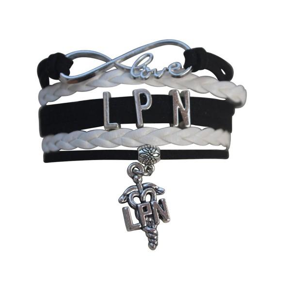 LPN Gift- LPN Bracelet- Nurse Charm Bracelet- Licensed Nurse Practitioner Jewelry- Makes Perfect Nurse Gift - CG12K317JVF