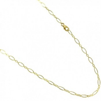 14k Gold Filled(1/20 of 14k) 3.5mm Anklet. Flat Oval Link Chain. 9-10-11-12 Inches - CH126BN5DD5