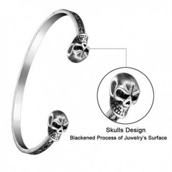 FGA Adjustable Bracelet Stainless Blackened in Women's Link Bracelets