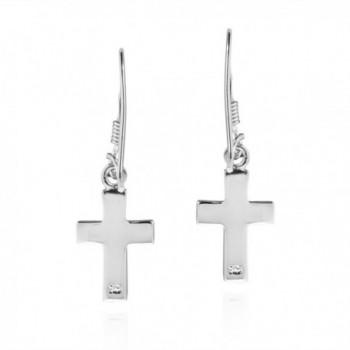 Inlaid Abalone Sterling Silver Earrings in Women's Drop & Dangle Earrings