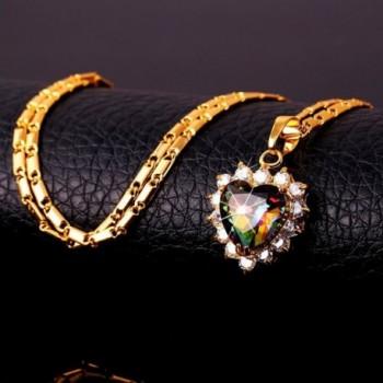 Fashion Wedding Necklace Zirconia Earrings in Women's Jewelry Sets