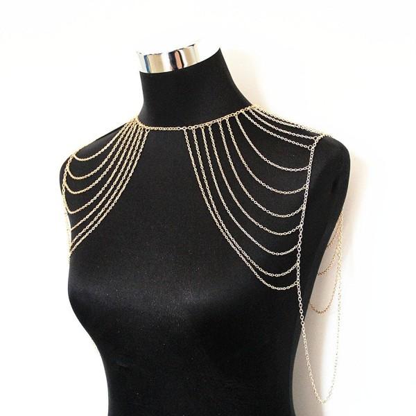 JoJo&Lin Tassel Body Chain Jewelry Body Harness Fine Chain - CG124INPR1D