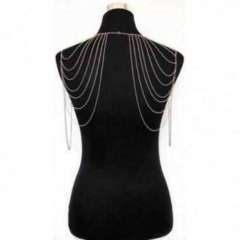 JoJo Lin Tassel Jewelry Harness in Women's Chain Necklaces