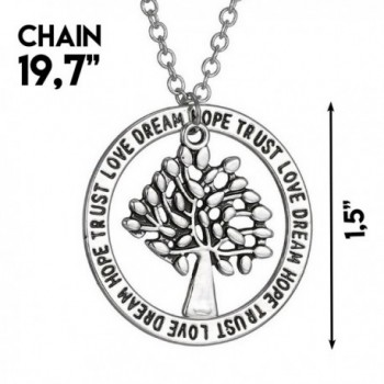 Tree Life Pendant Necklace Inspirational
