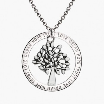 Tree Life Pendant Necklace Inspirational in Women's Pendants