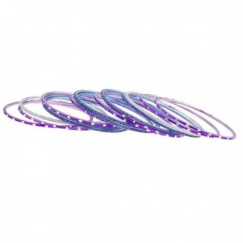 Lux Accessories Purple Glitter Wedding