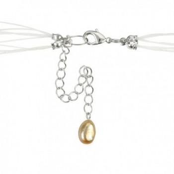 Regalia Freshwater Cultured Floating Necklace