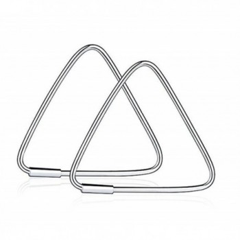 LOCHING Hollow Triangle/Square Earrings Fashion 925 silver Earrings - CL18523ASQS