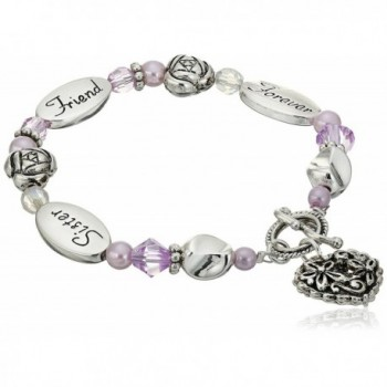 Sister Friend Forever Expressively Yours Bracelet - CP111YZKPED