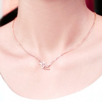 HANFLY Necklace sterling necklace Extender in Women's Pendants