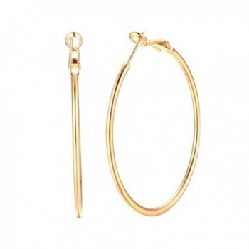 Basketball Earrings Women Endless Hypoallergenic - yellow gold - CG1808TG0Q2