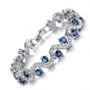 Starista Platinum Zirconia Bracelet Accessory