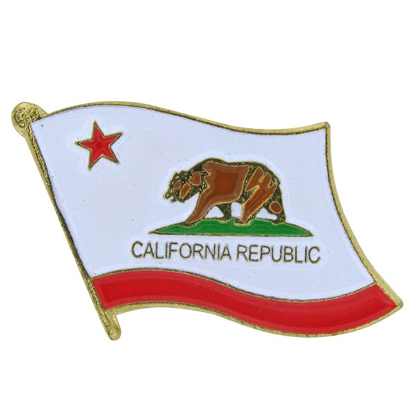 US Flag Store California Flag Lapel Pin - CG1125DGV05