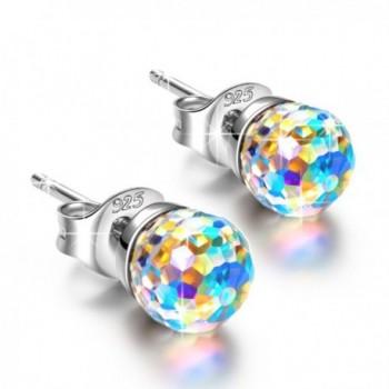 Earrings NINASUN Fantastic Swarovski Girlfriend - Crystal Aurore Boreale - CM1803RO2G4
