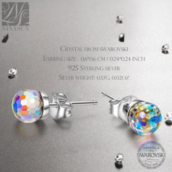 Earrings NINASUN Fantastic Swarovski Girlfriend