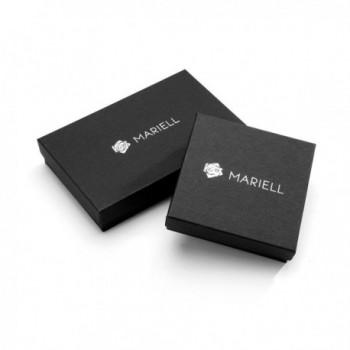 Mariell Crystal Pear Shaped Earrings Bridesmaids