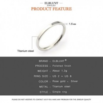 ELBLUVF Stainless Hammered Stacking Knuckle in Women's Stacking Rings