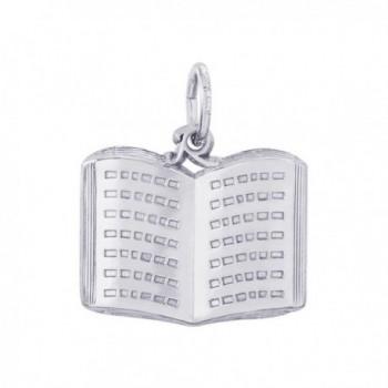 Rembrandt Sterling Silver Book Charm - CZ11JTDHAV7