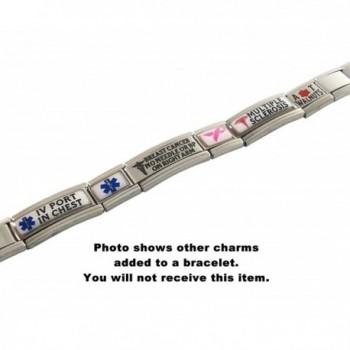 Breast Cancer Survivor Italian Bracelet