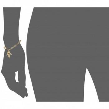 Symbols Faith Inspirations Gold Dipped Bracelet