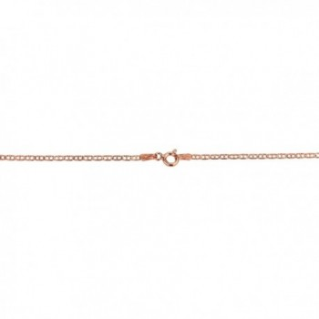 Rose Silver Singapore Chain Necklace