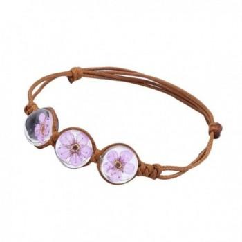 Susenstone Bracelets Charming Friendship Accessories - Purple - CR1836ZY4RD