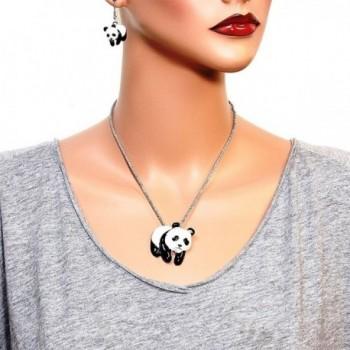 DianaL Boutique Pendant Necklace Earrings