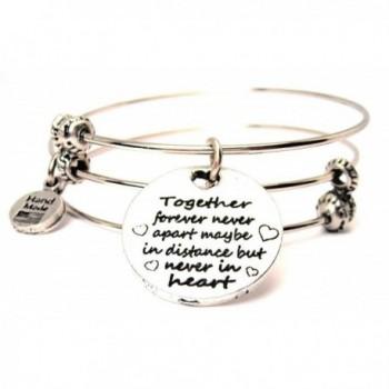Together Forever Never Apart Triple Style Bracelet - CE11U9IEQN7