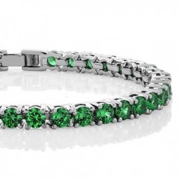10 00 Round Zirconia Tennis Bracelet