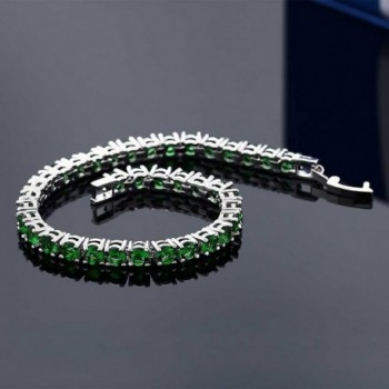 10 00 Round Zirconia Tennis Bracelet in Women's Tennis Bracelets