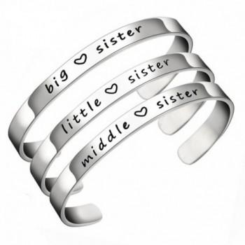 JJTZX Bracelet Sisters Bracelets Sisiters - 3 Sis Set - C0185NDALH7